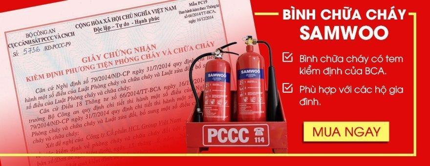 Bình cứu hỏa có kiểm định BCA cho hộ dân mua ở đâu tại Bắc Giang? thumbnail